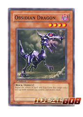 Obsidian Dragon - Common - PTDN-EN023 (1st Edition) on Ideal808