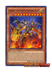 Jizukiru, the Star Destroying Kaiju - MP16-EN235 - Rare - 1st Edition