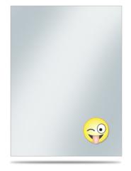 Ultra Pro Large Oversleeve 50ct. - Emoji Silly (Crazy) (#84753)