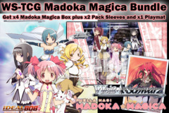 Weiss Schwarz Bundle - Get x4 Madoka Magica Booster Boxes plus x2 Shakuga no Shana V1 Sleeve & Promo Playmat on Ideal808