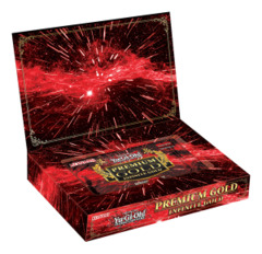 Yugioh Premium Gold: Infinite Gold Pack Box (Contains 3 mini-packs)