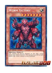 Worm Victory - HA03-EN025 - Secret Rare - Unlimited Edition