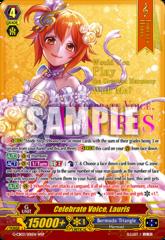 Celebrate Voice, Lauris - G-CB03/S01EN - WSP (Hot Stamp/Wedding Dress)