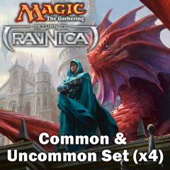 Return to Ravnica Complete Set of Commons/Uncommons x 4 on Ideal808