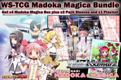 Weiss Schwarz Bundle - Get x4 Madoka Magica Booster Boxes plus x2 Hello Kitty Yamamura Karina Vol.41 Sleeve & Promo Playmat on Ideal808