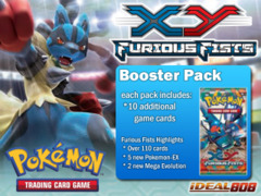 Pokemon XY Furious Fists Booster Pack on Ideal808