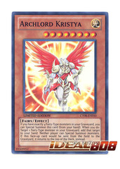 Archlord Kristya - CT08-EN010 - Super Rare - Limited Edition