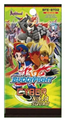 BFE-BT02 Cyber Ninja Squad (English) Future Card Buddyfight Booster Pack