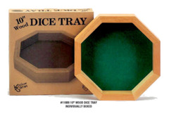 Koplow Dice Tray - Green Velvet Lining on Ideal808