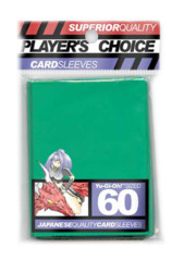 Player's Choice Yu-Gi-Oh! Card Sleeves - Green