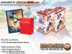 Weiss Schwarz KS Bundle (A) Bronze - Get x2 Konosuba Booster Boxes + FREE Bonus * PRE-ORDER Ships Aug.25