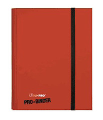 Ultra Pro Premium 9 Pocket Pro Binder - Red on Ideal808