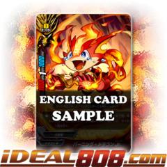 Burning Dragon Jr. [X-BT01A-CP01/0076EN SECRET (FOIL)] English