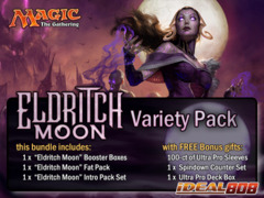 MTGEMN Variety Pack - Get x1 Eldritch Moon Booster Box; x1 Fat Pack; & 1 Intro Pack Set + FREE Bonus Items * PRE Ships Jul.22