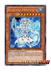 Blizzard Princess - Ultra - YG07-EN001 - IN STOCK! Ready to Ship