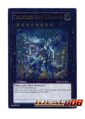 Thunder End Dragon - PHSW-EN044 - Ultimate Rare - 1st Edition
