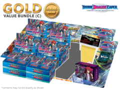 Cardfight Vanguard G-BT09 Bundle (C) Bronze - Get x8 Divine Dragon Caper Booster Box + FREE Bonus Items * Ships Dec.16