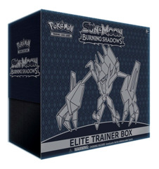 SM Sun & Moon - Burning Shadows (SM03) Pokemon Elite Trainer Box * PRE-ORDER Ships Aug.4