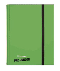 Ultra Pro Premium 9 Pocket Pro Binder - Green on Ideal808