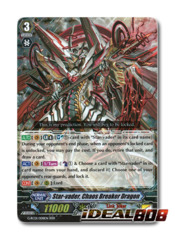 Star-vader, Chaos Breaker Dragon - G-RC01/008EN - RRR