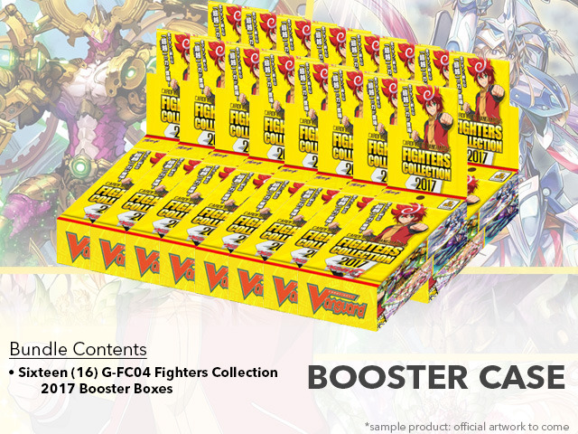CFV-G-FC04 Fighters Collection 2017 (English) Cardfight Vanguard G Booster  Case (16 Boxes)