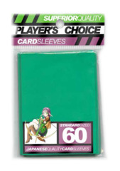 Player's Choice Standard Card Sleeves - Green
