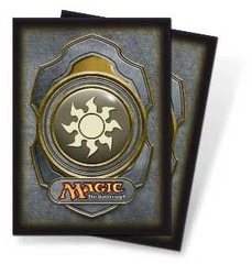 Magic the Gathering Mana Color 3 Sleeve 80ct. - Plains