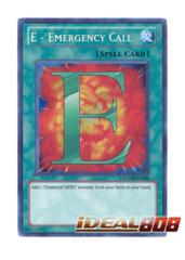 E - Emergency Call - RYMP-EN024 - Secret Rare - Unlimited Edition