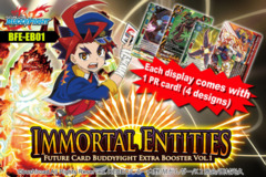 BFE-EB01 Immortal Entities (English) Future Card Buddyfight Extra Booster Box on Ideal808