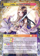 Lumia, Saint of the Crimson Lotus // Lumia, the Fated Rebirth [LEL-071 R (Textured Foil Ruler)] English
