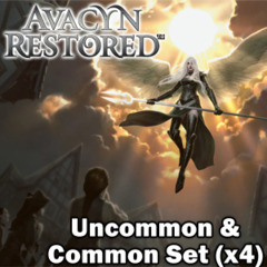 Avacyn Restored (AVR) Complete Set of Commons/Uncommons x4