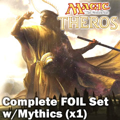 Theros (THS) Complete FOIL Set (with Mythics) x 1