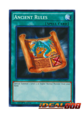 Ancient Rules - LDK2-ENK27 - Common - 1st Edition