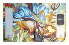 Cardfight Vanguard Promo Playmat - Great Silver Wolf, Garmore on Ideal808