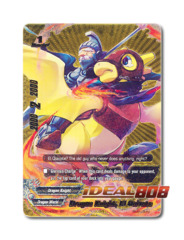 Dragon Knight, El Quixote [PP01/0043EN BR] English Golden Buddy Rare