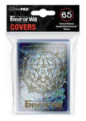 Force of Will Ultra Pro Sleeve 65ct. - Gold Magic Circle Sleeve Covers w/Hymnal's Memoria (Alt. Art) Promo Card (#85282)