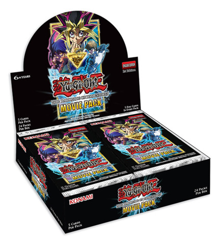 The Dark Side of Dimensions Movie Pack (1st Edition) Booster Box