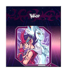 Yugioh ZeXal Yuma Tsukumo X Astral Paper Deck Box