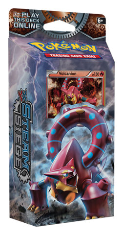 XY Steam Siege Gears of Fire (Volcanion) Pokemon Theme Deck
