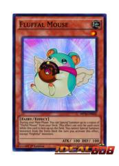 Fluffal Mouse - MP16-EN056 - Super Rare - 1st Edition