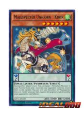 Majespecter Unicorn - Kirin - MP16-EN129 - Rare - 1st Edition