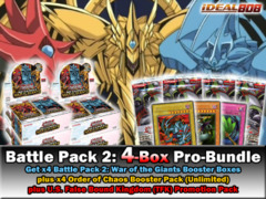 Yugioh BP02 Bundle: Get x4 Battle Pack 2: War of the Giants Booster Box plus x4 ORCS Packs & TFK Promo Pack * PRE-6/28 on Ideal808