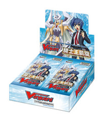 BT10 Triumphant Return of the King of Knights (English) Cardfight Vanguard Booster Box on Ideal808
