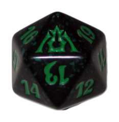 MTG Spindown 20 Life Counter - Dragon's Maze (Golgari - Black/Green)