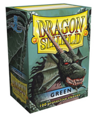 Dragon Shield Standard-size (100ct) Sleeves - Green