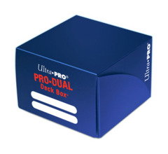 Ultra Pro Dual Deck Box - Blue on Ideal808