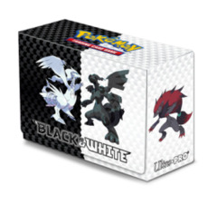 Pokemon Black & White Deck Box - Zekrom & Reshiram on Ideal808