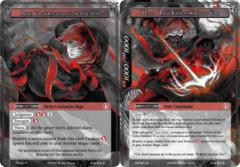 Mars, Fortuneteller of the Fire Star // Mars, Dark Commander of Fire [CFC-027 UR (Uber Rare Ruler)] English