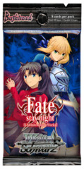Fate/stay night [UBW: Unlimited Blade Works] (English) Weiss Schwarz Booster Pack