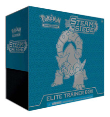 XY Steam Siege Pokemon Elite Trainer Box